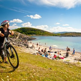 Øyhopping med sykkel
